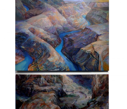 Erosion-(diptych)
